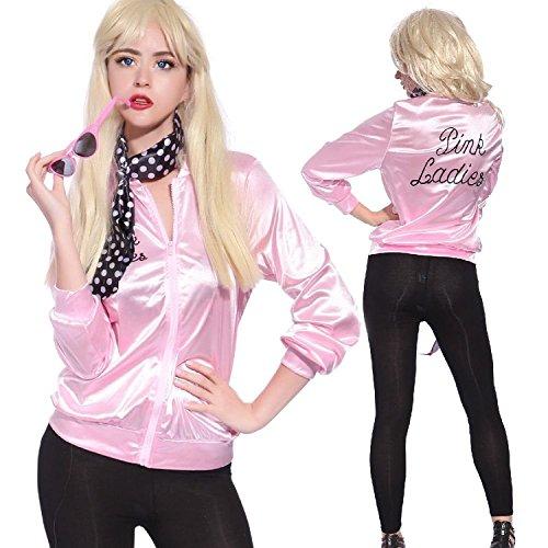 acke Damen 50er Jahre Kostüm Rock Roll Lady mit Schal- Size XX Large (60er-jahre-girl-outfits)
