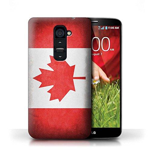 Hülle Case für LG G2 / Portugal/Portugiesische Entwurf / Flagge Collection Kanada/Kanadische