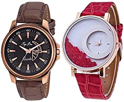 Pappi Boss Analogue Multi-Colour Dial Unisex Watches -Stylish Couple Watches