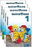 Mathetiger 1 Jahreszeiten-Hefte, Klasse 1: 4 Hefte
