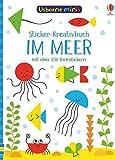 Usborne Minis: Im Meer: Sticker-Kreativbuch
