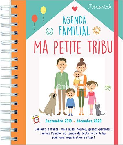 Agenda de ma petite tribu Mémoniak 2019-2020 par  (Reliure à spirales - Jun 21, 2019)