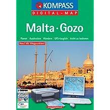 Malta-Gozo: Digital Map mit Kurzführer