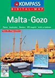 Malta-Gozo: Digital Map mit Kurzführer - Digital Map Kompass