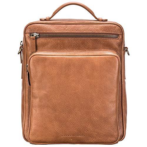 Maxwell-Scott® Luxus Herren Rucksack aus Leder