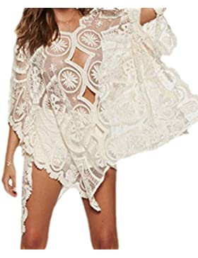 Frieda Fashion - Camisas - Túnica - Transparente - para mujer