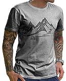 Stylotex Herren T-Shirt Basic MTB, Farbe:Heather;Größe:L