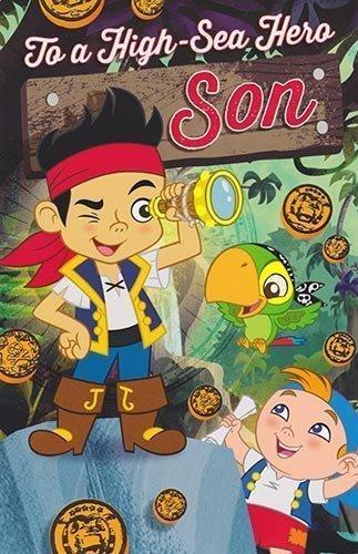 Jake und die Nimmerland Piraten - Geburtstagskarte für den Sohn - Pop-Up (Und Neverland Jake Piraten Jake Aus Die)