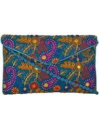 Utsav Women's Multicolour Sling Bag (Utsav 107)
