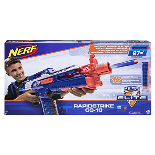 (Hasbro Nerf A3901EU4 - N-Strike Elite Rapidstrike, Spielzeugblaster)