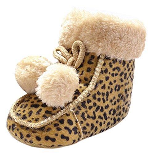 Fire Frog  Winter Snow Boots, Baby Jungen Krabbelschuhe & Puschen Leoprd