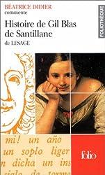 Histoire de Gil Blas de Santillane de Lesage