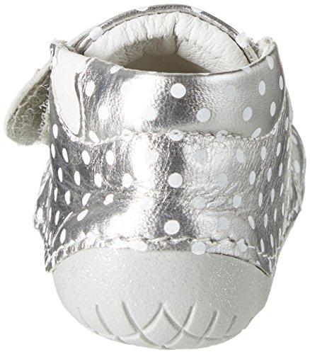 Primigi Baby Mädchen Ple 7001 Krabbelschuhe Silber (ALLUMINIO-BCO)