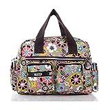 EQLEF® Sacs à main / bandoulière pour femme imperméable Casual Messenger Bag dames de motif de dessin animé coloré sac en tissu Castle
