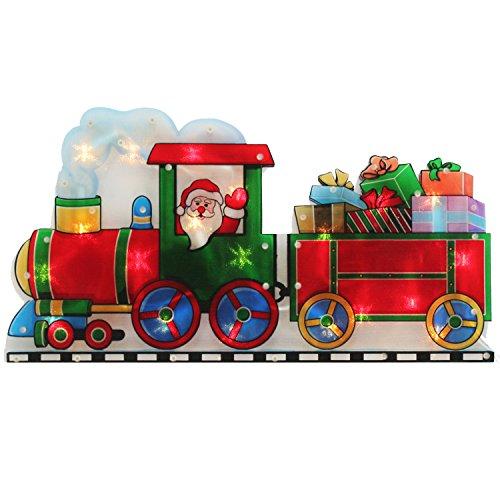 werchristmas-pre-lit-santa-train-double-sided-window-silhouette-christmas-decoration-45-cm