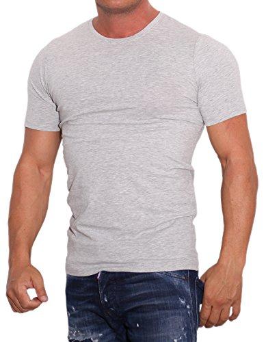 ONLY & SONS Herren T-Shirt Onsbasic Slim V-Neck NOOS Blau (Navy Blazer Navy Blazer)