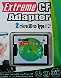 Extreme CF Adapter 6th Generation 2X MicroSD/SDHC/SDXC auf CompactFlash Typ I CF Karte Adapter OVP