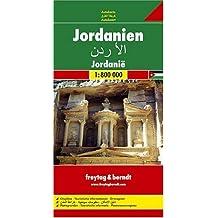 Carte routière : Jordanien