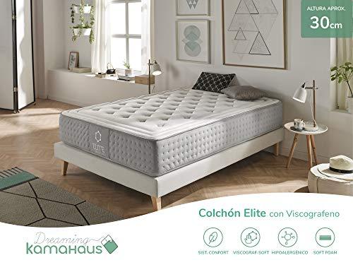 Dreaming Kamahaus Elite Colchón, con Viscografeno-Soft, 150x200