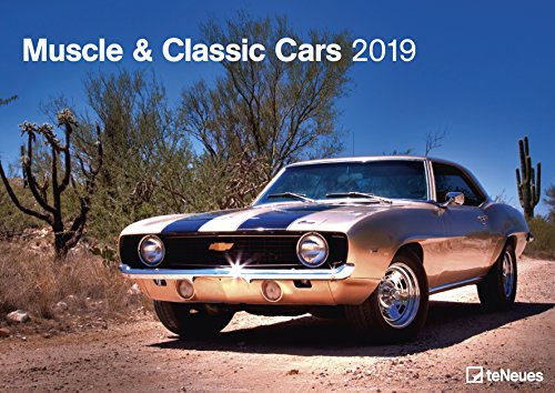 Muscle & Classic Cars 2019 - Autokalender, Motorsport, Muscle-Cars 2019  -  42 x 29,7 cm