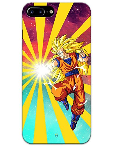 iPhone 8 Plus Cases & Covers - Dragon Ball Z Goku Raging Blast Case by myPhoneMate - Designer Printed Hard Matte Case - Protects from Scratch and Bumps & Drops.  available at amazon for Rs.499