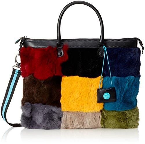 GABS - G3, Borsa a mano Donna Multicolore (Multicolor)