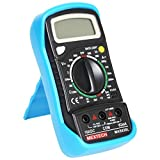 #9: Mextech MAS830L 3 Digit, 1999 Counts, 600 AC/DC Voltage Digital Multimeter