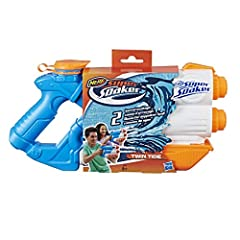 Idea Regalo - Nerf Super Soaker - Twin Tide, E0024EU4