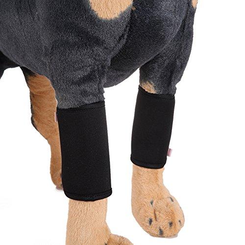 2PCS Pet Supplies Elbow Protector Schutz Hundekeule Hund Wunde Protector Bein Wrap Schützt Brace