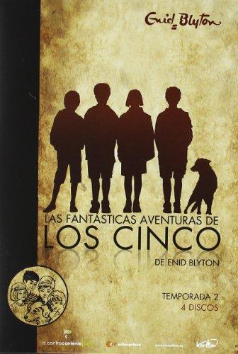 Las Fantásticas Aventuras De Los Cinco – Temporada 2 [DVD] 516B9bLD2qL