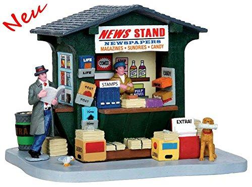 Lemax - 1950´s News Stand - Polyresin - Figuren & Zubehör für die eigene kleine Weihnachtswelt