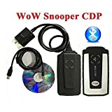 WoW Snooper CDP + Diagnosegerät für Autos/Trucks, gleiche Funktion wie Autocom CDP + ohne Bluetooth