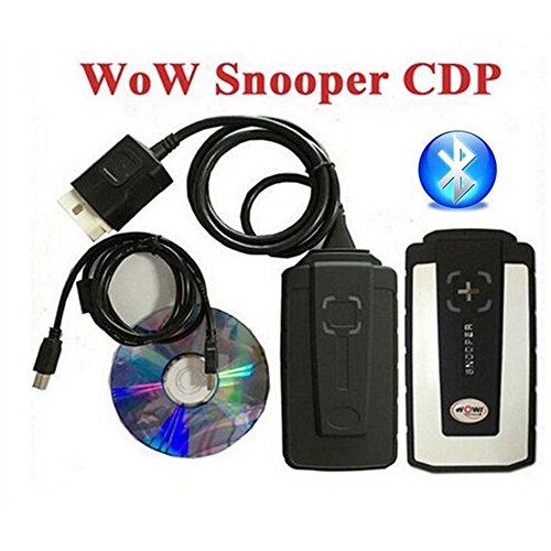 WoW Snooper CDP + Diagnosegerät für Autos/Trucks, gleiche Funktion wie Autocom CDP + ohne Bluetooth (Bluetooth-anhänger-lichter)