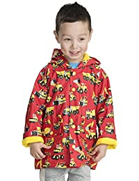Hatley Classic Printed Rain Jacket, Impermeable para Niñas