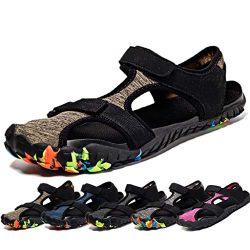 Herren Sandalen Outdoor Sports Strand Sandale Schnell Trocken Sommer Schuhe Geschlossene Strandsandalen Atmungsaktive Strandschuhe