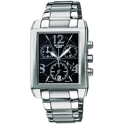 CASIO 19512 SHN-5007D-1A - Reloj Señora cuarzo brazalete metálico dial negro de CASIO