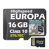Topo Europa für Garmin Edge 510 605 705 800 810 1000 Touring Karte ★ ORIGINAL von STILTEC ©