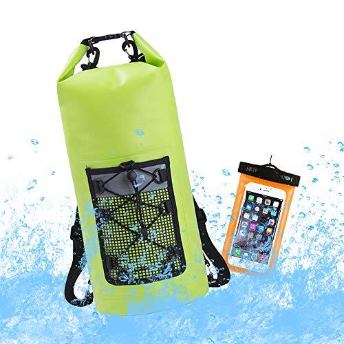 Mydee Bolsa Estanca, Premium Bolsa Seca Impermeable, TPU Waterproof Dry Bag, Surf Telefono Bolsa, para Playa y Deportes al Aire(Rafting/Kayak/Senderismo/Rsquí/Escalada/Camping/Natación) (Colour 4)
