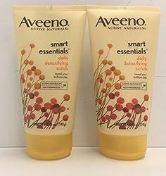 Aveeno Active Naturals Smart Essentials Daily Detoxifying Scrub 5. 0 OZ (2 PACK)