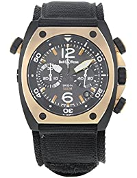 4cfce7764f4 Bell   Ross Marine BR02-CHR-BICOLOR Matte PVD Black Steel Automatic Men s  Watch
