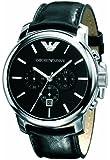 Emporio Armani Herren-Armbanduhr XL Analog Quarz Leder AR0431