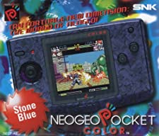 Neo Geo Pocket color Konsole - Stone Blau- PAL