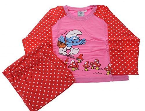ädchen rot / pink Größe 122/128 (Mädchen Schlumpf-kostüm)