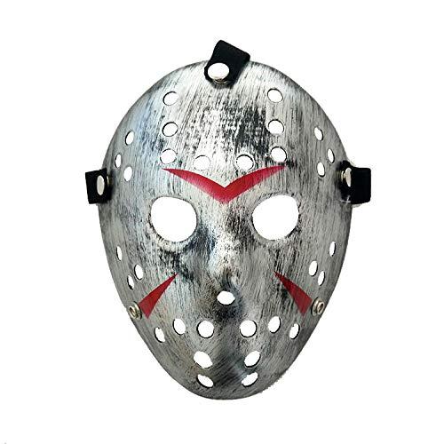 Der Kostüm Killer Jason - HEOWE New Jason Vs Freitag der 13. Horror Hockey Cosplay Kostüm Halloween Killer Maskerade Maske Halloween Mask @ B