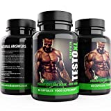 TESTO XL: Testosterone Booster for Men - 180 Capsules - UK Manufactured – Advanced Natural Supplement Contains Natural ingredients Tribulus Terrestris Increase Test Levels Natural Ingredients Used By athletes and bodybuilders for an extreme boost to Libido Muscle & Strength. 3 Months Supply 3 pack of all Natural Male Enhancement Pills. Limited Edition Black Bottle.