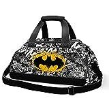 Karactermania Batman Tagsignal-Nomad Sports Bag Sporttasche, 57 cm, 13.5 liters, Grau (Grey)