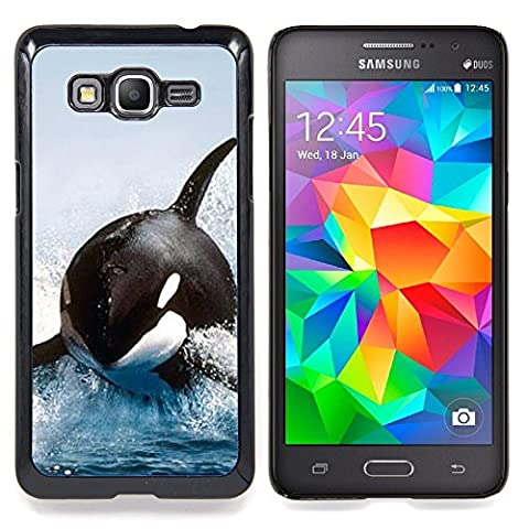 STPlus L'orque baleine Coque Rigide Étui Cache pour Samsung Galaxy Grand Prime