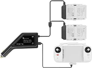 Penivo 3 In 1 Auto Ladegerät Für Fimi X8 Se Xiaomi Drohnenbatterie Fernbedienung Ladeadapter Zubehör