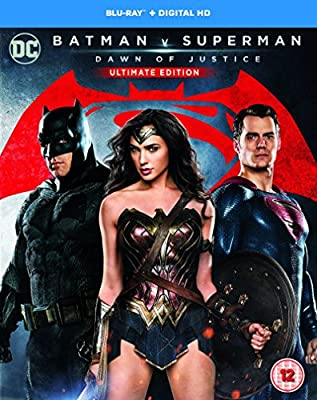 Batman v Superman: Dawn of Justice (Ultimate Edition) [Includes Digital Download] [Blu-ray] [2016] [Region Free]