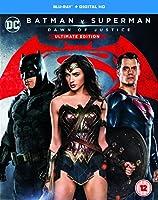 Batman v Superman: Dawn of Justice (Ultimate Edition) [Blu-ray] [2016] [Region Free]